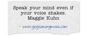 Speak-your-mind-even-if