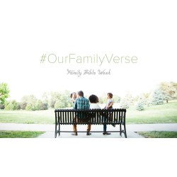 Small Crop Of Bible Verse About Family