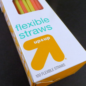 Up&up straws from Target