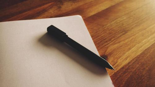 Buch und Stift