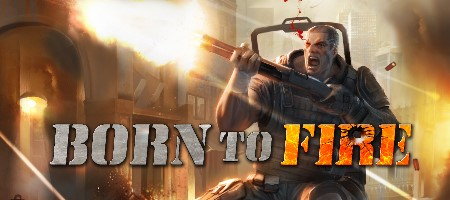 MMOFPS Born to Fire Logo