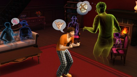 The Sims 4 Sentimento Fantasma