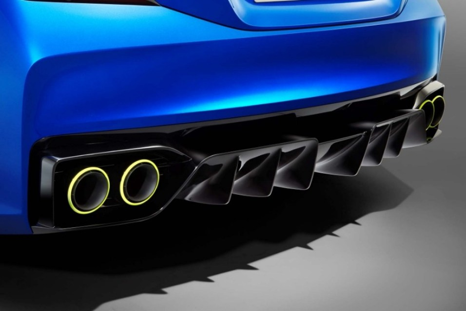 Photo  Exclu : La Subaru WRX Concept