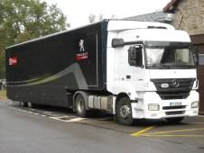 Camion Peugeot Sport