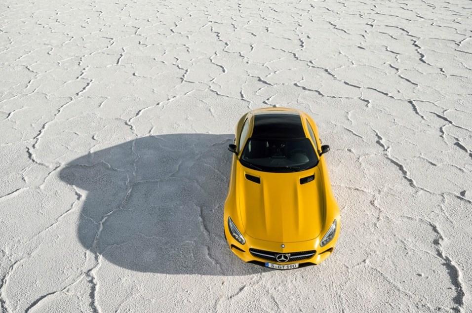 La Meredes AMG GT concurrente directe des Porsche 911