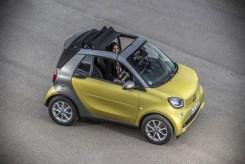 Smart ForTwo Cabrio 2015 - Jaune - 44