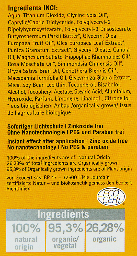 Choisir sa cr me solaire le blog bio - Faire briller aluminium oxyde ...