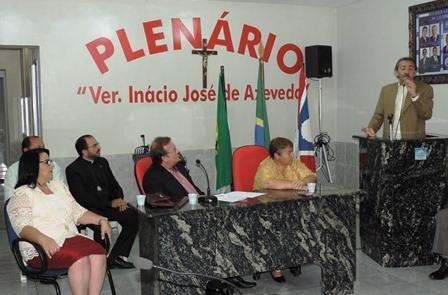Fala do deputado José Adécio