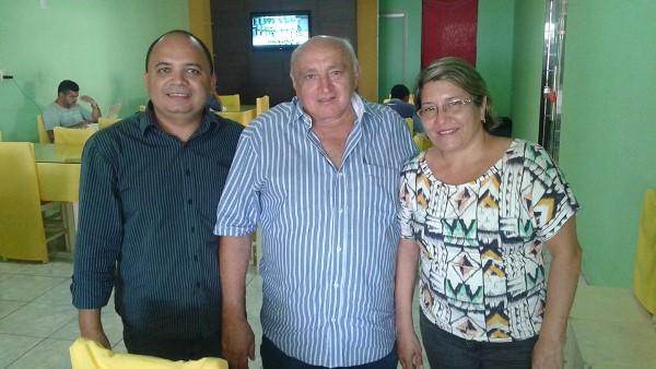 Messias Araújo, Josafá Araújo e Rosiane Soares