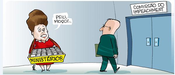 Charge da Gazeta de Alagoas