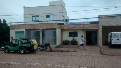 Unidade de Saúde de São Miguel do Gostoso na Avenida dos Arrecifes. (Foto: Ailton Rodrigues).