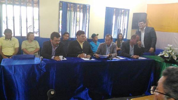 Sessão ordinária da Câmara Itinerante na comunidade de Serrinha