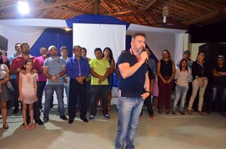 Prefeito Ney no lançamento de sua pré-candidatura a releição (Fotos: Francisco Diassis)