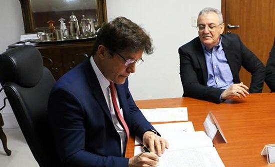 Governador assina termo de posse do novo Secretário Estadual de Saúde