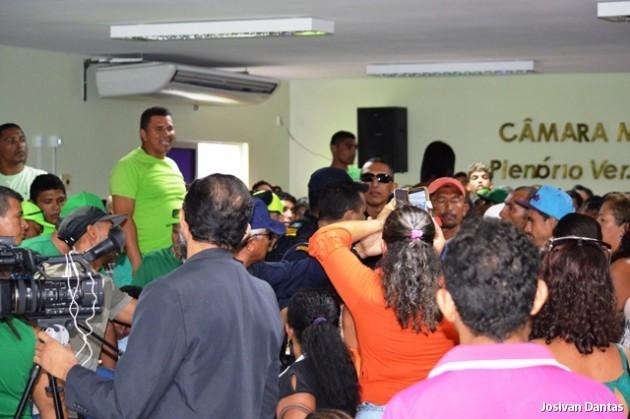 Confusão na sessão da Câmara Municipal de Guamaré