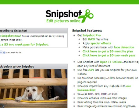 Snipshot