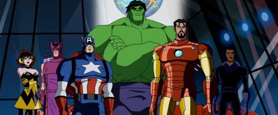Imagen de la segunda temporada de Avengers: Earths Mightiest Heroes