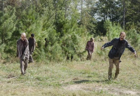 Imagen promocional de The Walking Dead 5x14: Spend