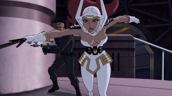 Captura del tercer capítulo de Justice League: Gods and Monsters Chronicles