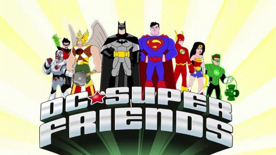 Captura de la intro de DC Super Friends
