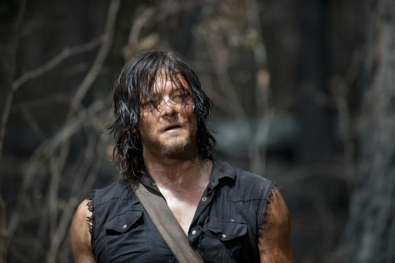 Daryl en The Walking Dead 6x06: Always Accountable