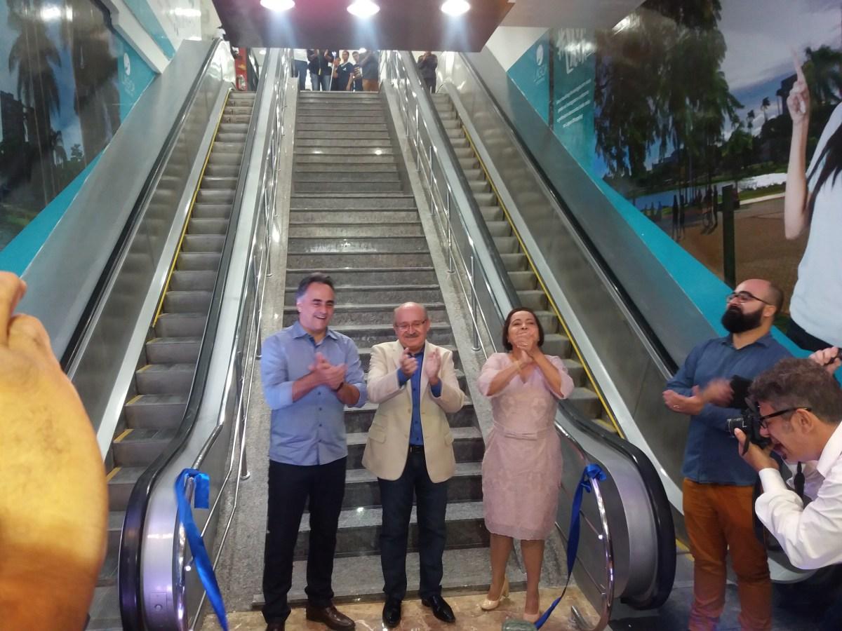 Prefeito participa de inauguração do Lagoa Shopping e destaca parceria