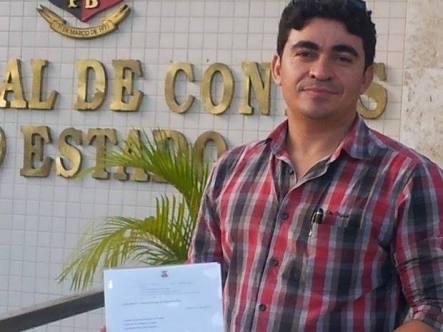 Ação Civil pede cassação do presidente da Câmara de Conde por beneficiar a própria mãe