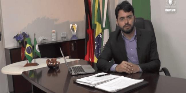 Berg Lima minimiza denúncias de secretário e anuncia veto a presídio em Bayeux