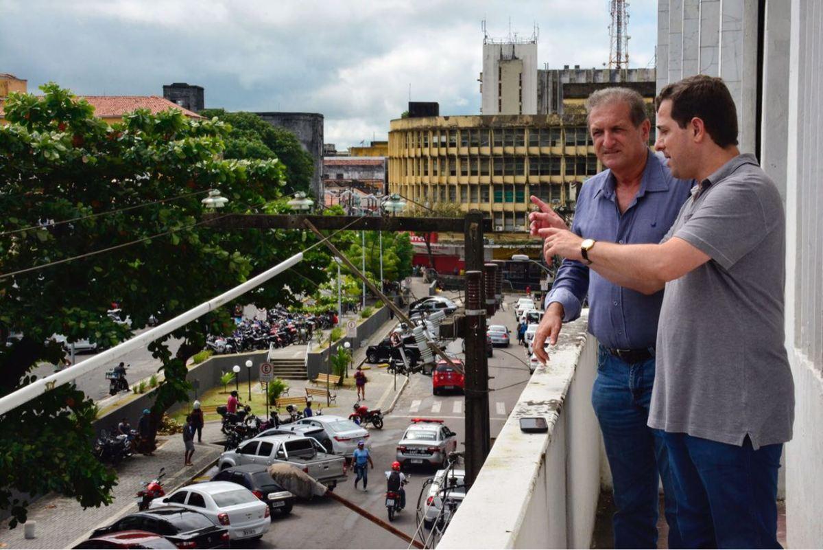 Gervásio inspeciona novo prédio da ALPB e destaca preservação do patrimônio histórico