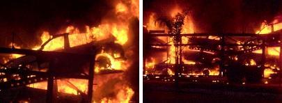 """Terrorismo nas estradas: Homens tentam incendiar """"cegonheira"""""""