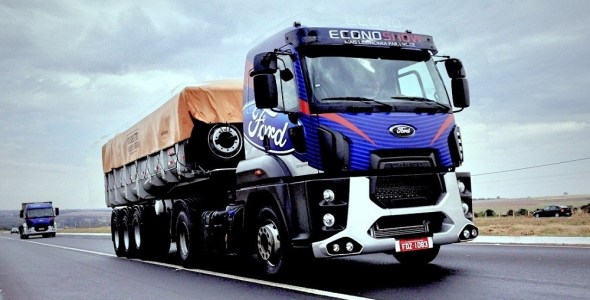 Ford Trucks Econoshow Caravan in Brazil