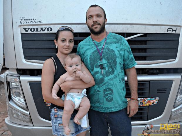 Motorista viaja com a família e teme ficar isolado na BR-364