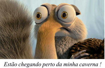 As cavernas do Scrat