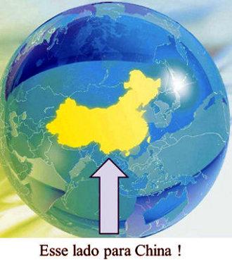 Para baixo ou para China