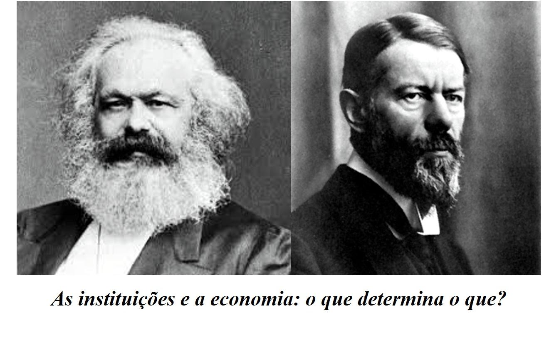 Menos Marx mais Max