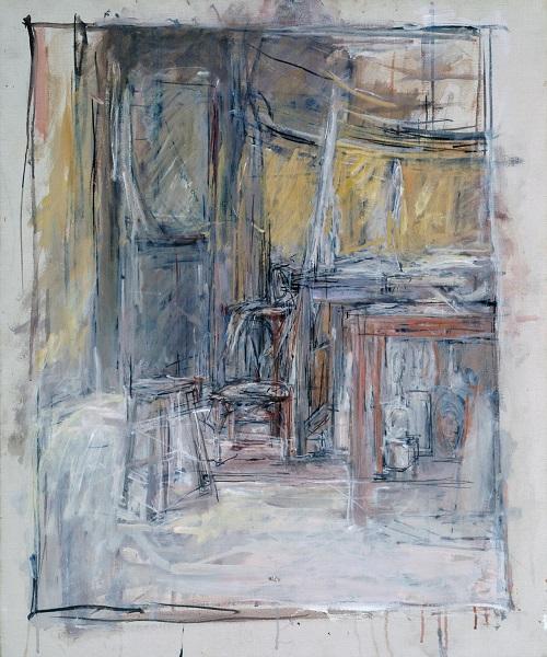 Interior 1949 Alberto Giacometti 1901-1966 Purchased 1949 http://www.tate.org.uk/art/work/N05908