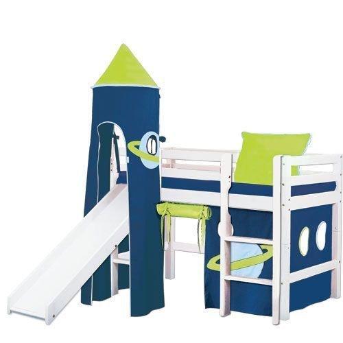 halvhög loftsäng från Hoppe Kids hos eurotoys.se