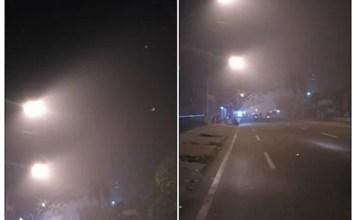 Penampakan Kondisi Kabut Asap di Pontianak Agustus 2016
