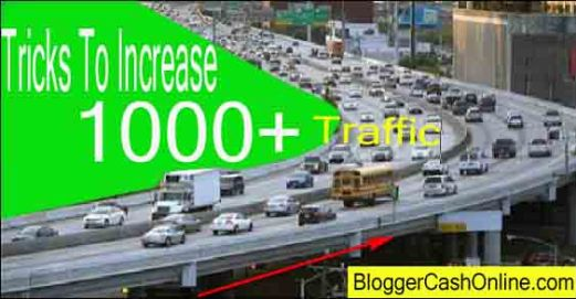 How to increase traffic on blog image