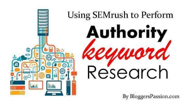 using semrush to find keywords