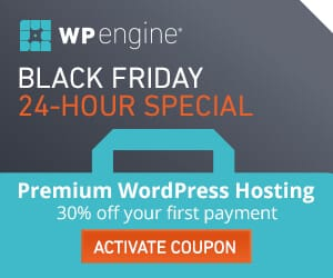 WP Engine Black Friday Deal
