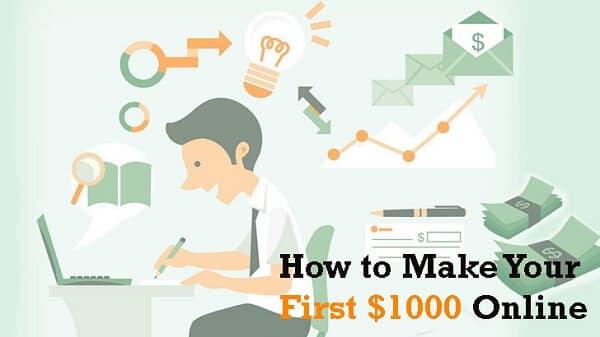 make first 1000 dollars