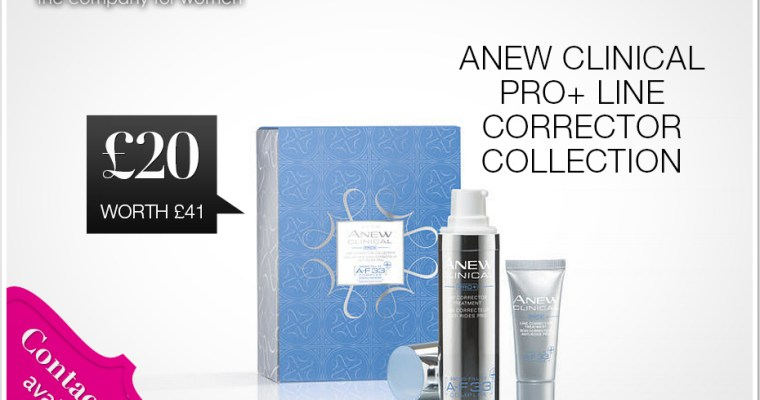 Avon | ANEW Clinical PRO+ Line Corrector Collection | £20