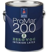 Promar 200 ZERO VOC – The right paint for your home