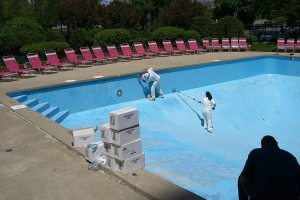 Painting a Swimming Pool