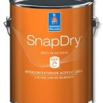 Sherwin Williams Snap Dry