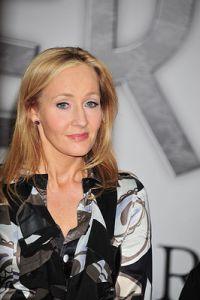 J.K. Rowling  en el lanzamiento de Pottermore