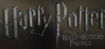 Logotipo Oficial de Harry Potter y el Misterio del Príncipe
