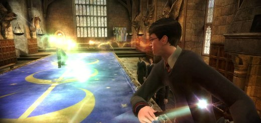Captura del videojuego de Harry Potter y el Misterio del Príncipe