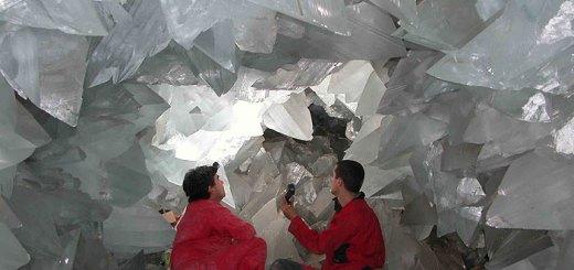 Cueva de los Cristales de México